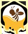نحلة وعسل